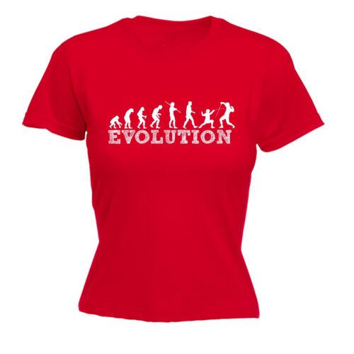 Evolution escrime T-shirt femme tee-shirt cadeau d/'anniversaire épée fleuret épée sabre