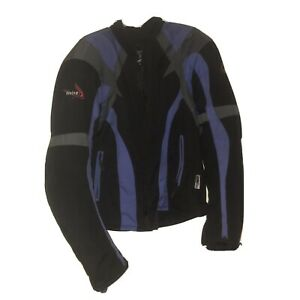 Weise-Motorcycle-Jacket-XXL-Blue-Black-Waterproof-Excellent-Condition