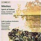 Jean Sibelius - Sibelius: Spirit of Nature - Songs, Cantatas and Orchestral Works (2006)