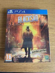 Jeu Blacksad Under The Skin Limited Édition NEUF FR Sony PlayStation 4 Ps4