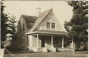 1910-Madge-Wisconsin-Stone-House-Architecture-Real-Photo-Postcard