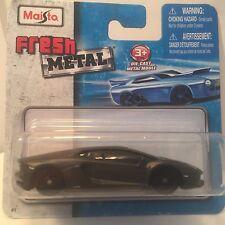 Maisto Lamborghini Aventador Fresh Metal Die-cast toy car scale 1/64 ages 3+.