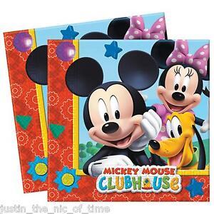 Disney Mickey Mouse Clubhouse Serviettes En Papier Garcons