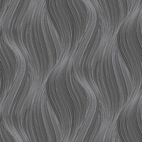 ORLA WAVE GLITTER WALLPAPER SLATE GREY MURIVA 153107 SPARKLE