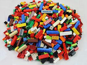 LEGO - Basic Building Bricks 2x2 2x3 2x4 2x6 2x8 Assorted Blocks Bulk Lot Pound