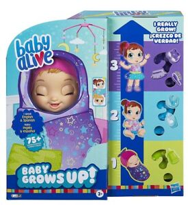 Baby Alive Baby Grows Up Dreamy - Shining Skylar or Star Dreamer - Growing Doll