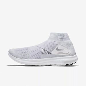 ee6802829e94 NIKE Mens Free RN Motion Flyknit 2017 Running Shoe Wolf Grey-Pure ...