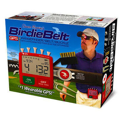 Novelty Birdie Belt Golf Accessory Fun Birthday Party Christmas Gift Box