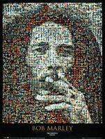 Reggae Music Poster Bob Marley Mosaic I