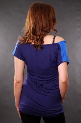 DAMEN SHIRT SUBLEVEL STORMY BLUE T-SHIRT KLEID