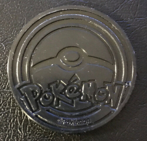 Pokemon TCG Lucario Blue Foil Coin Fast Shipping!