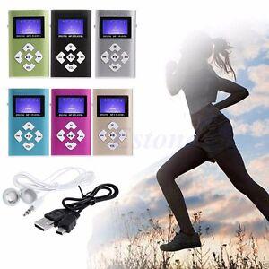 32GB-Mini-USB-Digital-MP3-Music-Player-LCD-Screen-Metal-Support-TF-Card-Earphone