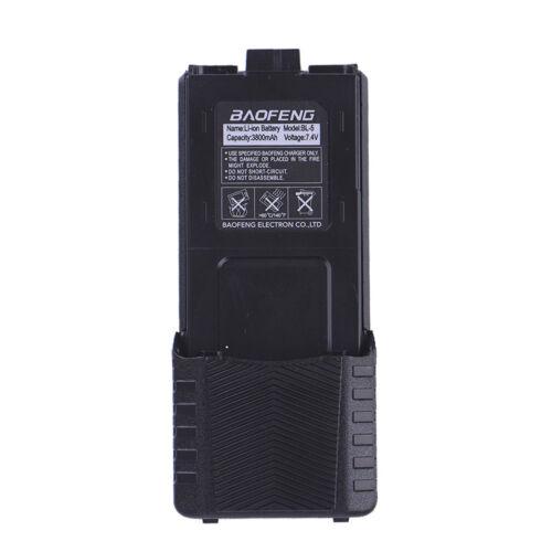 Baofeng Black EXTENDED Li-ion Battery Baofeng UV-5R V2 BF-F8 Baofeng BF-F9 V2