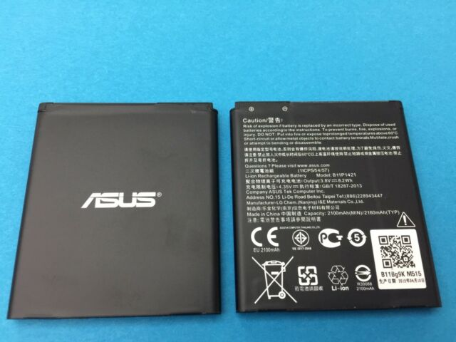 GENUINE BATTERY OEM ASUS ZenFone ZC451CG 2015 45 2100mAh ORIGINAL B11P1421