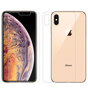 iphone xs max phone case clear front and back