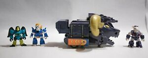 Vintage-Battle-Beasts-Action-Figurine-amp-Vehicle-Bighorn-Chariot