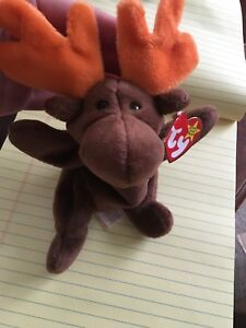 8ad4d25dacb Image is loading Ty-beanie-Baby-Chocolate-the-moose-style-4015-