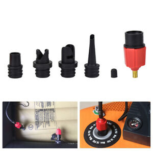 4-Nozzle-SUP-Pump-Adapter-Inflatable-Boat-Kayak-Air-Valve-Adaptor-Hose-Connector