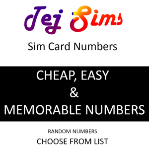 Details about Gold Number SIM CARDS VIP Business Easy Mobile Phone Number  Sim Cards CHEAP SIMS