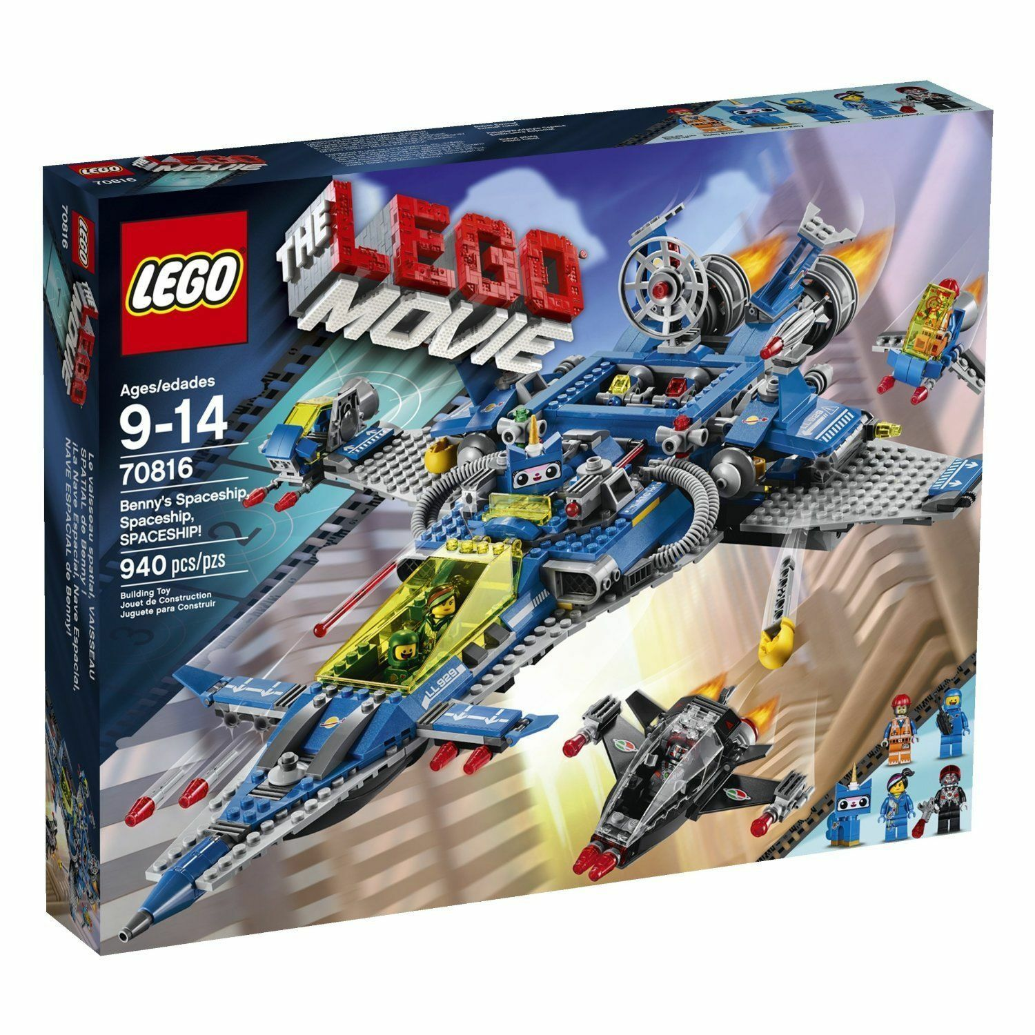 70816 Benny's SPACESHIP lego NEW movie misb space emmit kitty wyldstyle astro