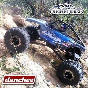 Danchee-Ridgerock-1-10-Rock-Crawler-4x4-Off-Road-RC-Monster-Truck-RTR-Blue