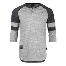 3b81dfabd5 item 4 ZIMEGO Men s 3 4 Sleeve Baseball Football College Raglan Henley  Athletic T-shirt -ZIMEGO Men s 3 4 Sleeve Baseball Football College Raglan  Henley ...