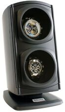 Versa Automatic Double Watch Winder - Black  4 Settings Bi-directional per Motor