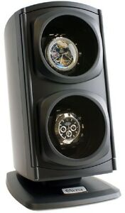 Versa-Automatic-Double-Watch-Winder-Black-4-TPD-Settings-amp-3-Directional