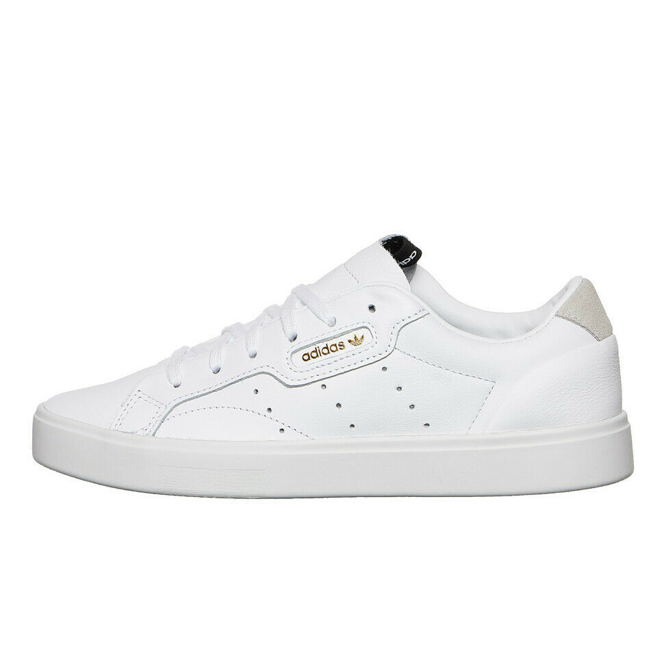 Adidas - adidas Sleek W Footwear White   Footwear White   Crystal White DB3258