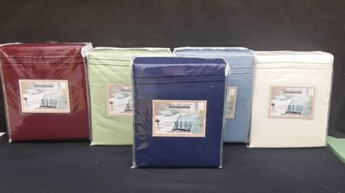 Queen Waterbed 4 PC Sheet set Double Brushed Microfiber FREE POLE ATTACHMENT