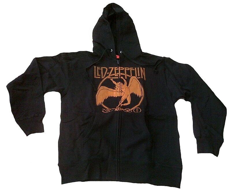 Bravado Official Led Zeppelin Swan Song Skirt Vip Zip - Sweatshirt Hoodie XL