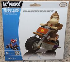 K'NEX Donkey Kong Bike Building Set - Factory Sealed (34 pc) Nintendo Mario Kart