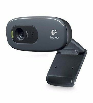 Logitech C270 HD Pro 3.0MP Webcam with Microphone