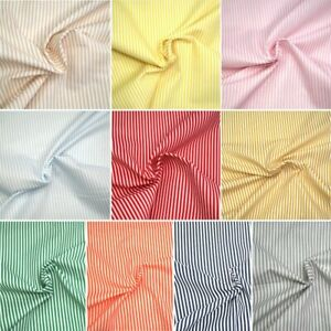 100-Cotton-Fabric-3mm-Candy-Stripes-Lines-140cm-Wide-Crafty