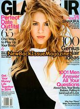 Glamour 2/14,Shakira,February 2014,NEW