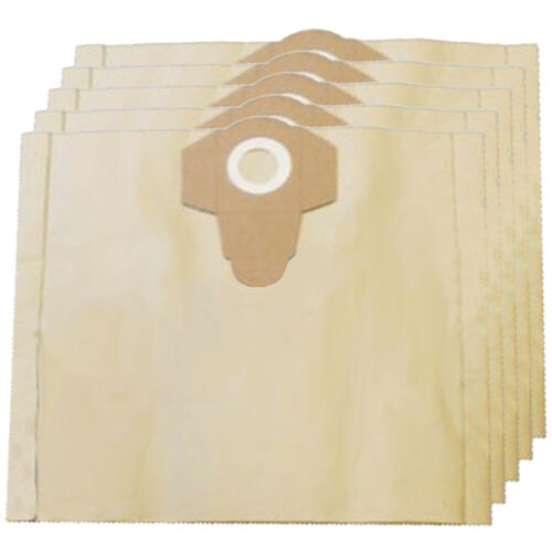 5 x Dust Bags for STIHL Vacuum Cleaner Canister 30L 30 Litre SE122 Fresheners