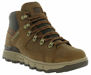 Caterpillar Ice Senderista Botines Nieve Impermeable Stiction Marrón Hombre rqrwxCE8f