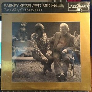 SEALED-Barney-Kessel-amp-Red-Mitchell-LP-Two-Way-Conversation-Jazz-Man-1981