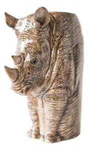 Romantique Rhino Flower Vase By Quail Pottery Ceramics 297 Saveur Pure Et Douce