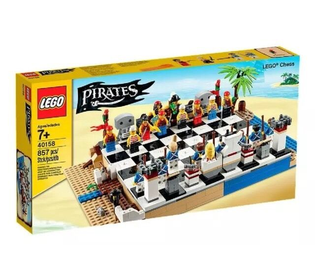 Lego Pirates 40158 Pirates Chess building set NEW Sealed - 857 pcs