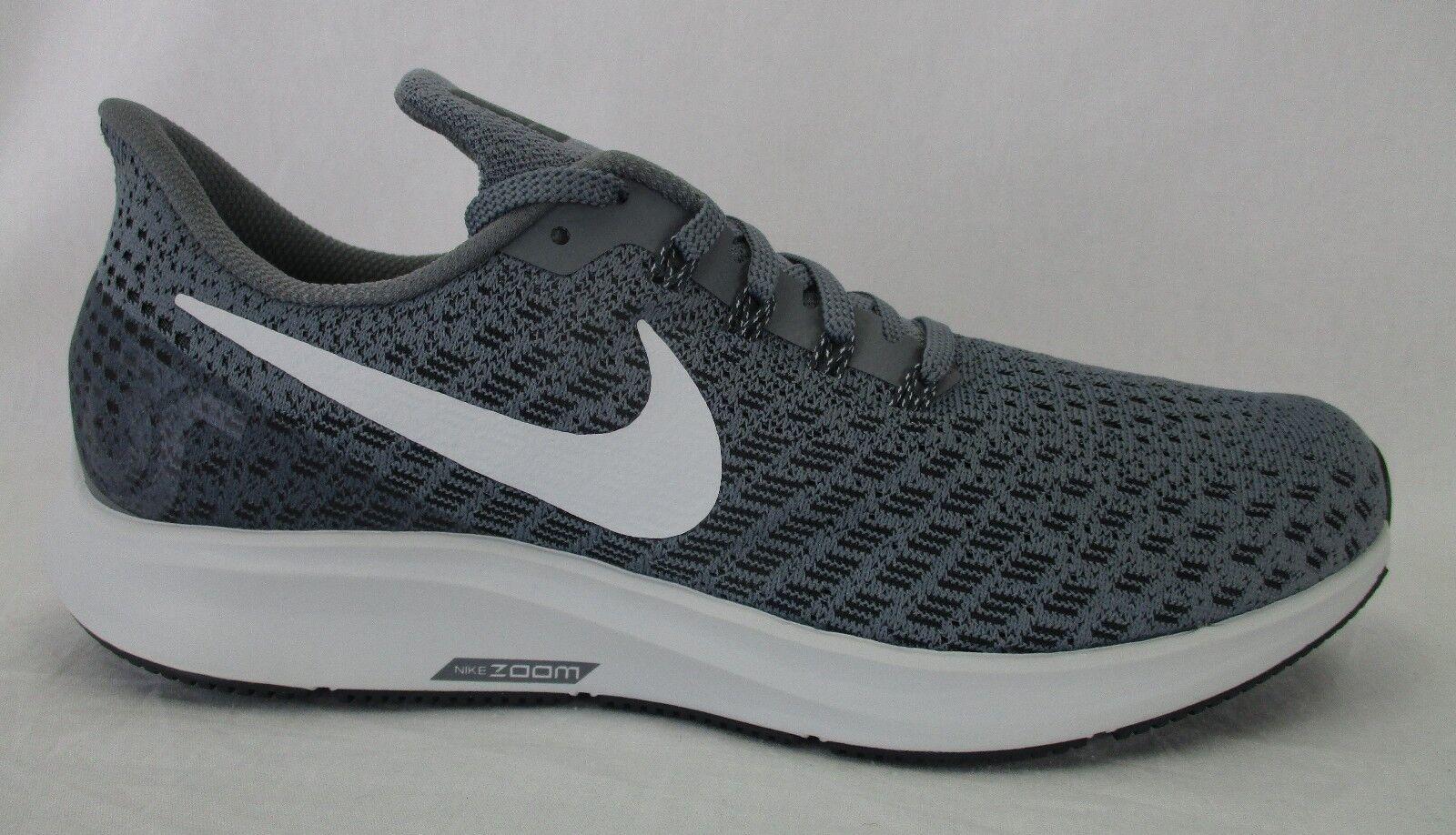 Nike Mens Air Zoom Pegasus 35 Shoes 942851 005 12 Cool Grey/Pure Platinum Size 12 005 c72251