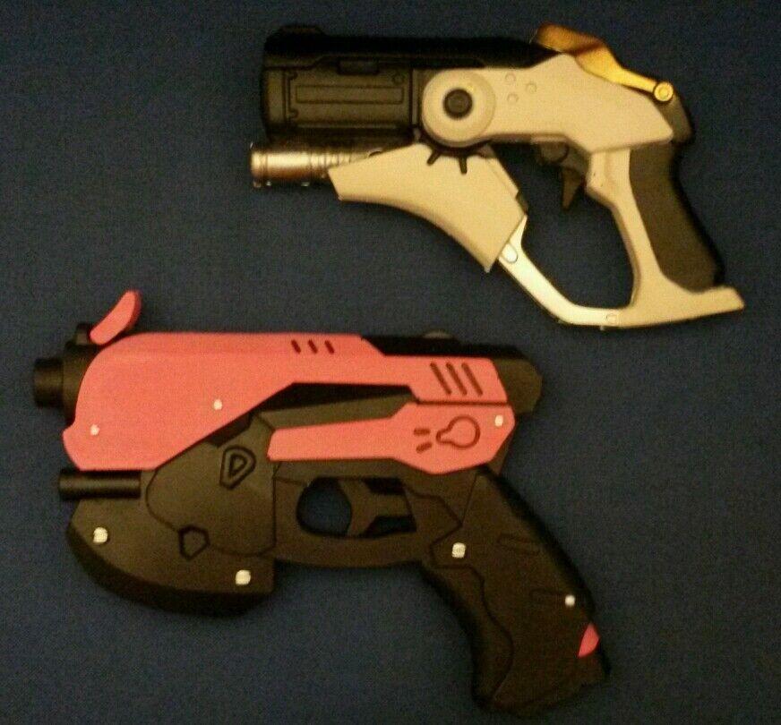 LOT TOY GUN OVERWATCH COSPLAY REPLICA PROP FOAM COSTUME 1 1 SCALE MERCY D VA
