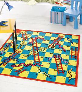 Kiddy serpientes escaleras juego lavable antideslizante ni os alfombra alfombra cuadrado de 133 - Alfombras ninos lavables ...