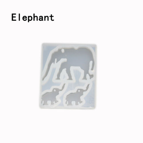 Animal Resin Molds Silica Gel Mold Crystal Glue Epoxy DIY Silicone Casting Mould