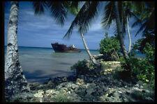 590004 Chuuk Lagoon World War II Shipwreck Papua New Guinea A4 Photo Print