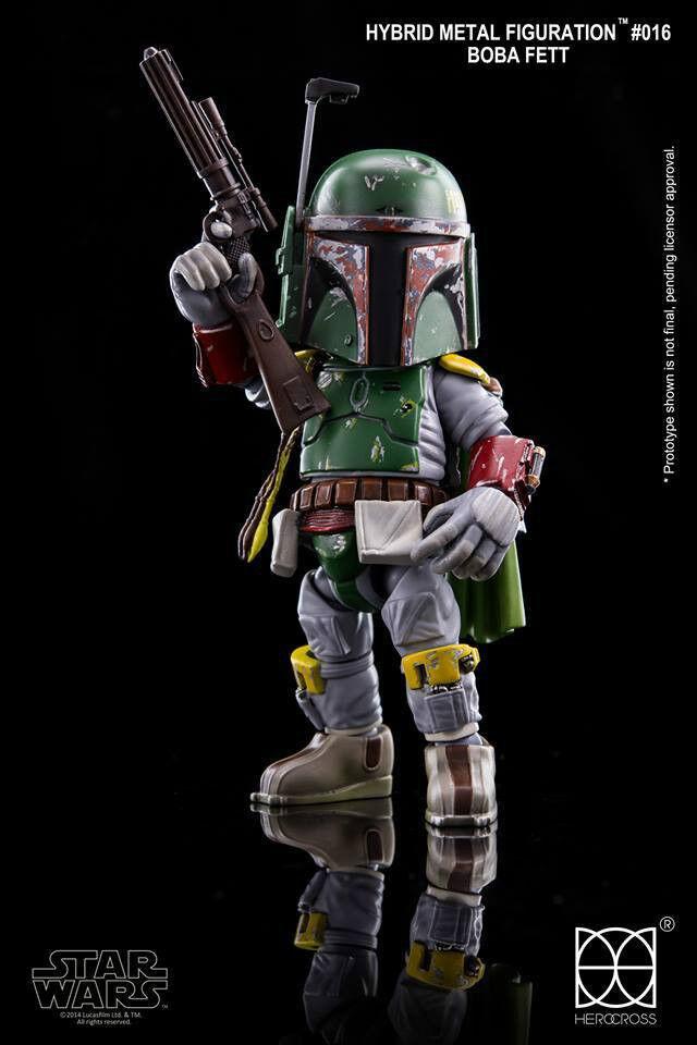 86 Hero herocross  HMF  016 Figura De Estrella Wars Boba Fett