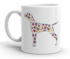 Hungarian-Vizsla-Dog-Mug-Cool-Modern-Heart-Design-Birthday-Xmas-Mothers-Day-Gift