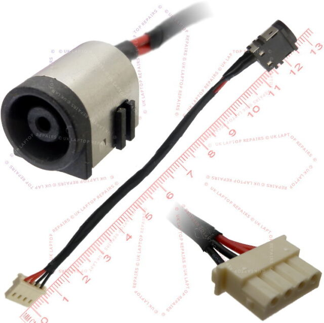 SONY Vaio SVF152C29M  SVF15 2C29M DC Power Jack Socket Cable Connector harness