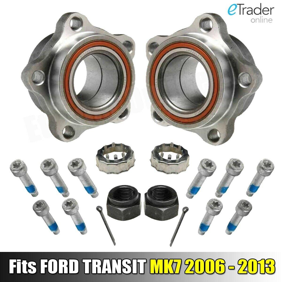 Ford Transit Mk7 2006-2014 Front Hub Wheel Bearing Kits Pair