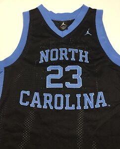 watch e0805 cf40b Details about Youth Nike UNC Tar Heels Michael Jordan Jordan Brand #23  Black Size Medium